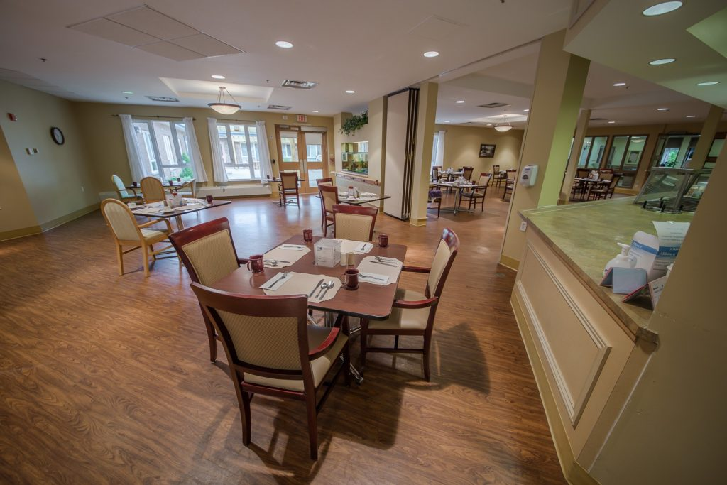 Oak Court and Pine Lane Dining Rooms
